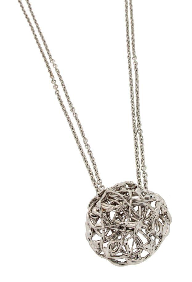 Collana pendente in bronzo