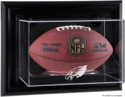 buy eagles black framed football display case from the official online store of the eagles