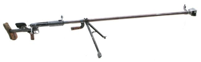 Degtyarov PTRD anti-tank rifle (USSR)