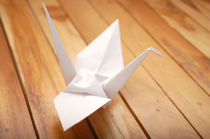 Holy crap I actually did this! How to Fold a Paper Crane