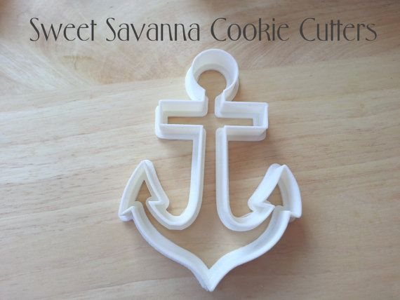 Anchor Cookie Cutter Check out this item in my Etsy shop https://www.etsy.com/listing/192368883/anchor-cookie-cutter