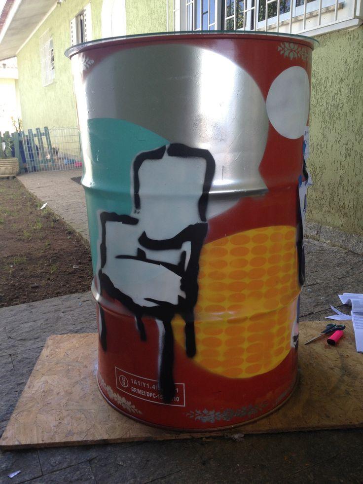 Latão pintado, materia Casa Claudia Curitiba