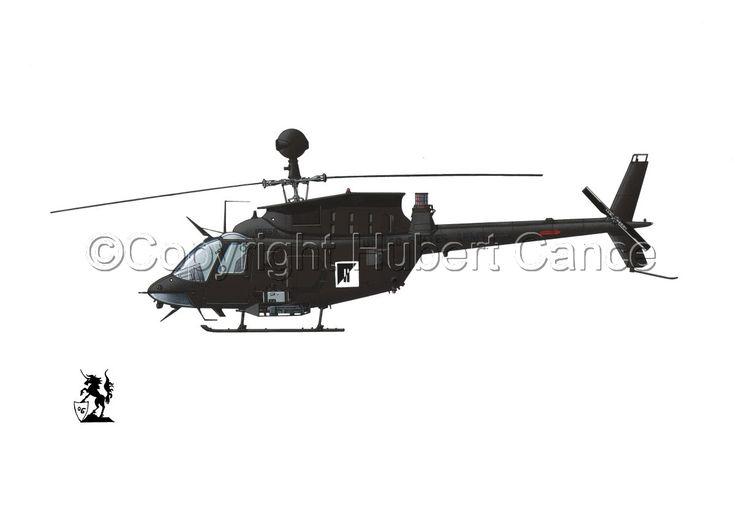 """Белл OH-58d данныи пункт """"Кайова Уорриор"""""""