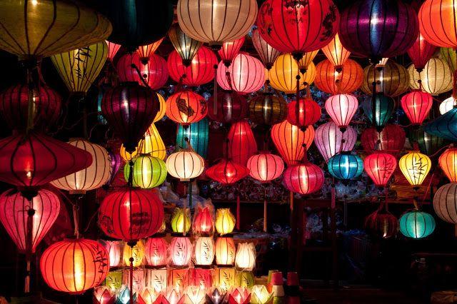 Rosa Interestelar:  Linternas chinas,globos del deseo,linternas del ...