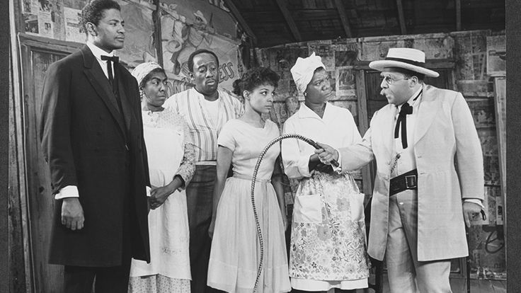 Ossie Davis, Helen Martin, Godfrey Cambridge, Ruby Dee, Beah Richards and Sorrell Booke in - Purlie Victorious