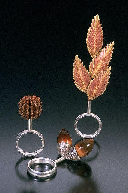 Sanibel Island Rings by Sarah Hood Jewelry, via Flickr