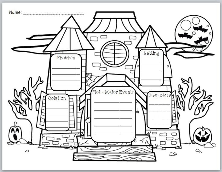 descriptive essay of the haunted house english