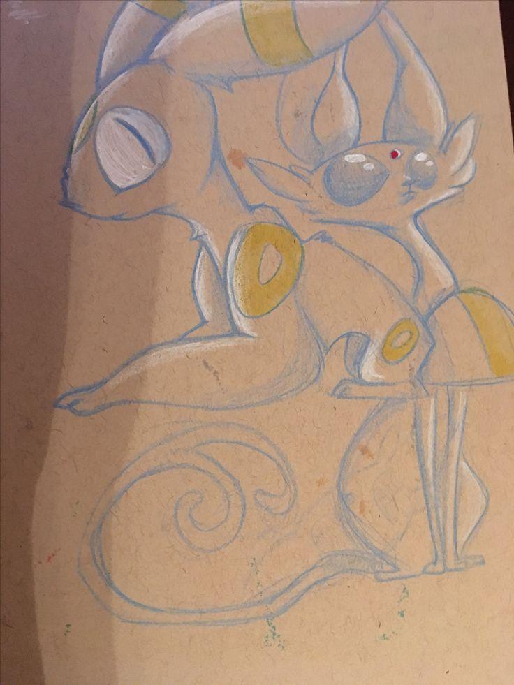 Pokémon sketches by Sophia A