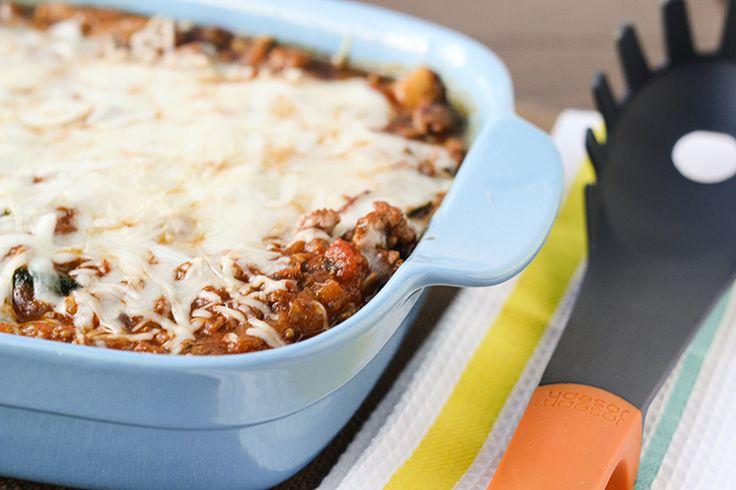 Recipe:+Skinny+Spaghetti+Squash+with+Meat+Sauce