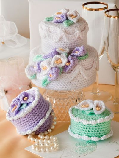 59 best Crochet - Cake Boxes images on Pinterest | Crochet cake ...