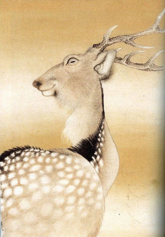 NAGASAWA Rosetsu (1754-1799), Japan 長沢芦雪