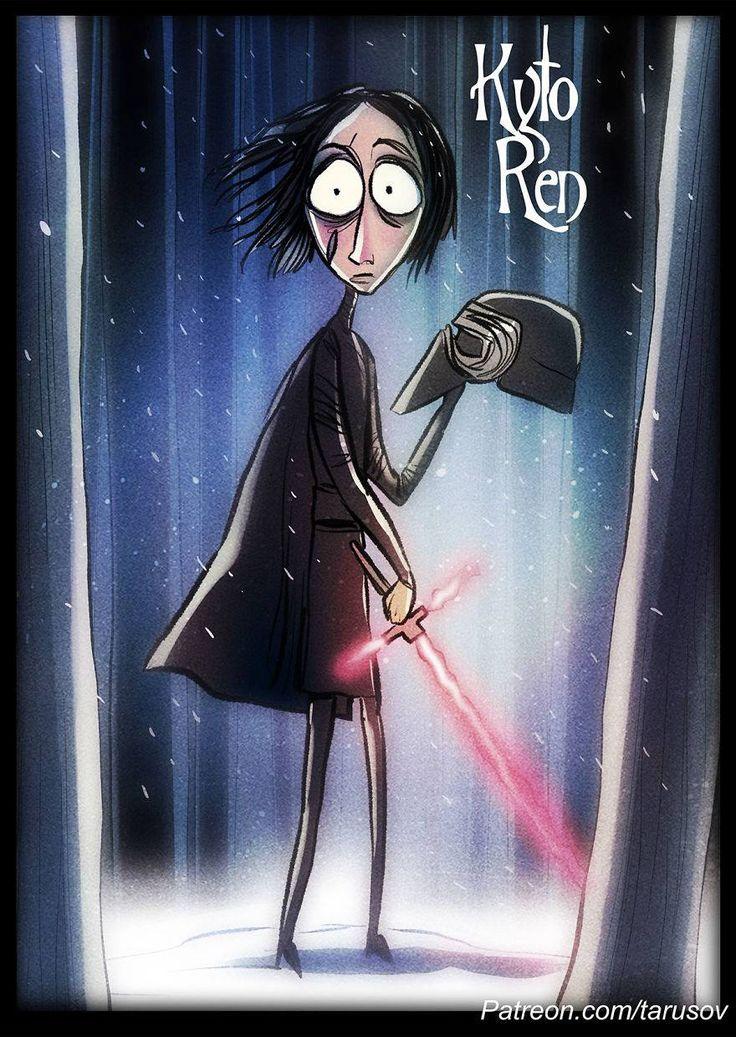 Si Tim Burton hubiese dirigido Star Wars (vía Tarusov) (Galería).