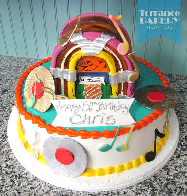 Incredible jukebox cake!