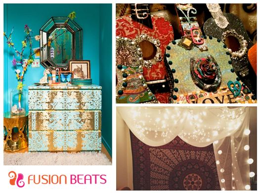 Brighten up your ambiance with these colorful and artistic things #FreeSpirit.