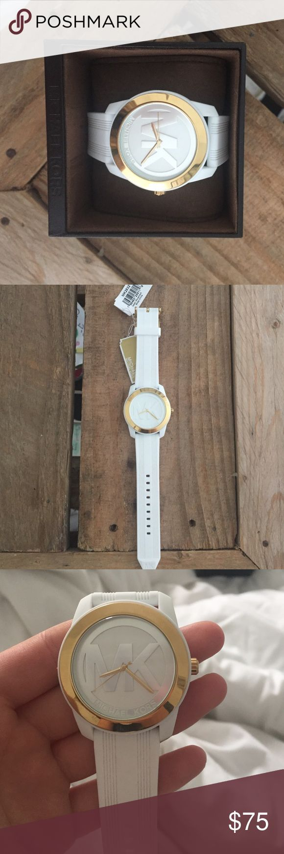 Brand new White Michael Kors watch White, and gold KORS Michael Kors Accessories Watches