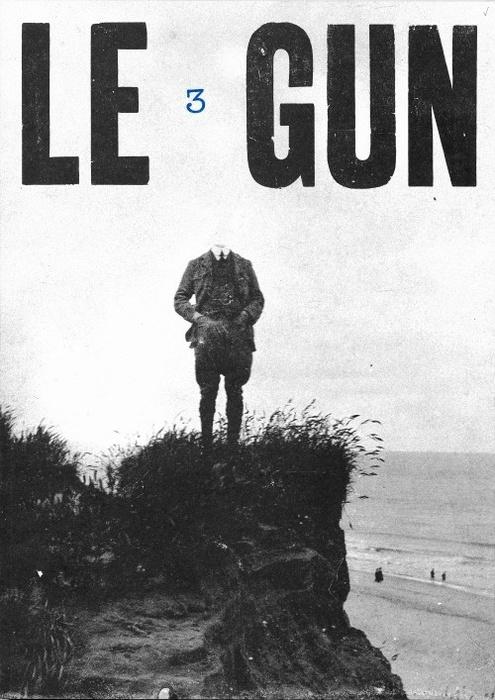 cover of Le Gun magazine