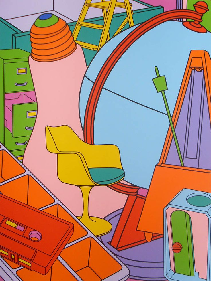 Paintings - Michael Craig-Martin