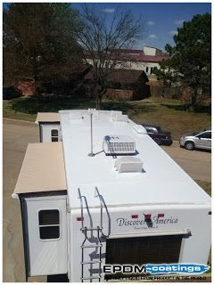 Marvelous RV Liquid Roof: RV Coatingsu2013appropriate Care Of Your RV Roof