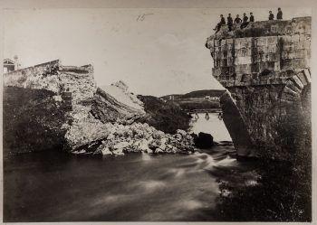 L-1090163 - Ponte Salario abbattuto - Alinari - 1867