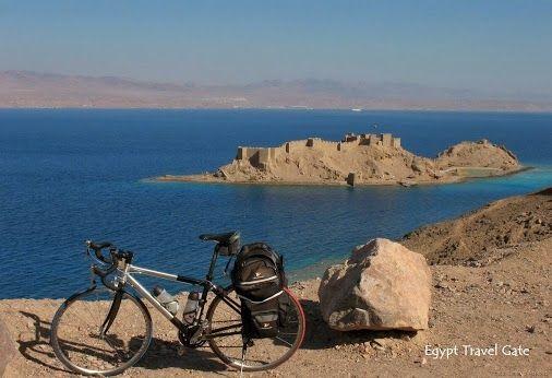 Saladdin Citadel on Pharaoh's Island, Taba, Egypt. #Sinai #Redsea #Taba #Tours #Trips #Excursions