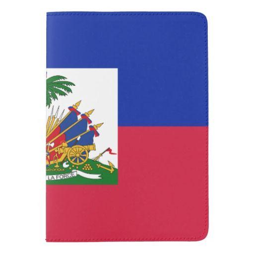 Haitian flag passport holder