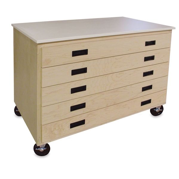 Art Storage Drawers Extend Fully To Access Art And Art Supplies Art Supplies Storage Art Storage Art Supply Box