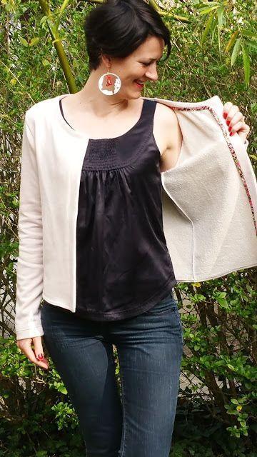 Le bazar d'Anne-Charlotte: Gilet Monceau : première!!!