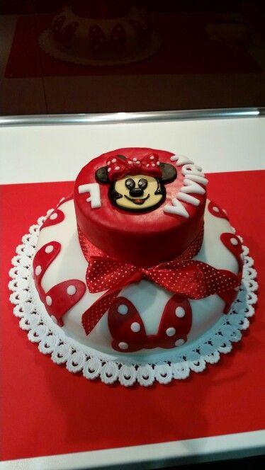 """""""Minnie cake"""" Minnie torta"""
