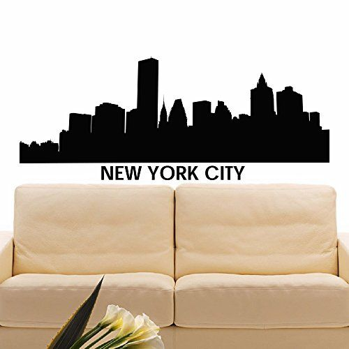 Best City Silhouette Images On Pinterest Silhouette Design - How to make vinyl wall decals with silhouette