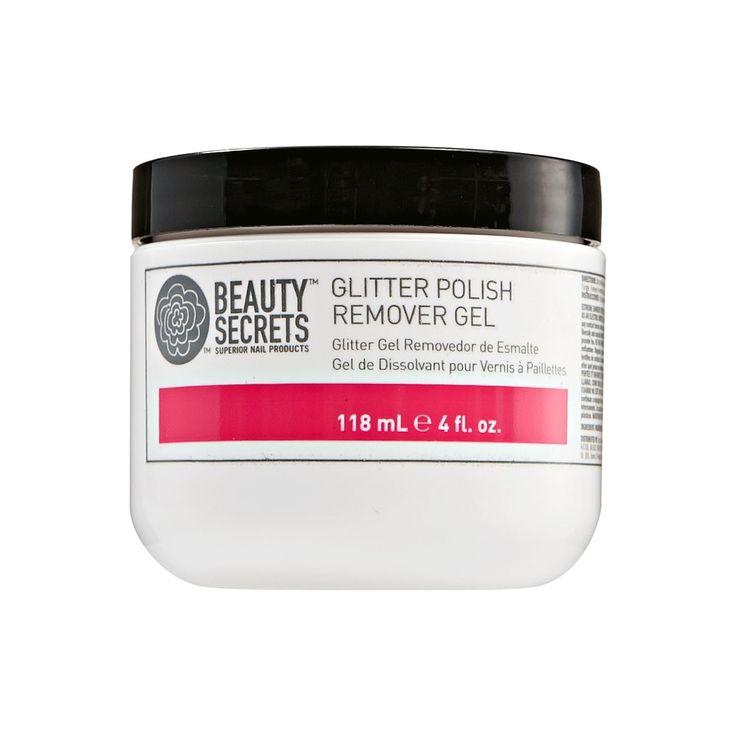 Glitter Polish Remover Gel