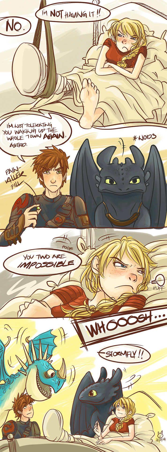 Nackt porno dragons astrid Astrid Dragon