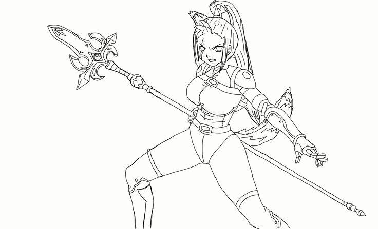 Resha Lionheart re drawing