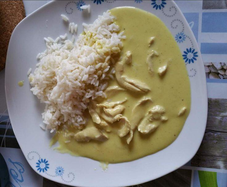 Curry h hnchen rezept hauptgerichte h hnchen einfache gerichte und curry for Ungarisches paprikahuhn