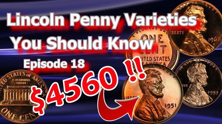Lincoln Penny Varieties You Should Know Ep.19 - 1951, 195, 1968 and What...