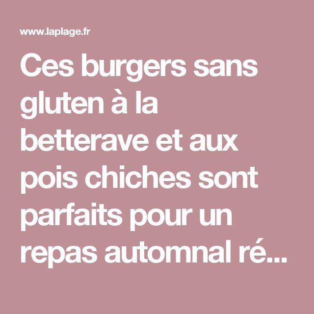 Ces burgers sans gluten à la betterave et aux pois chiches sont parfaits pour un repas automnal réconfortant. - Editions La Plage