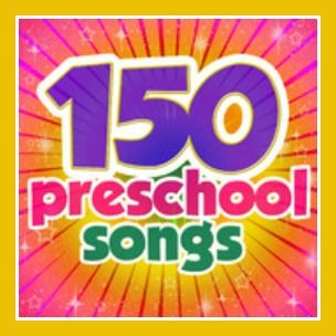 150 Preschool Songs works great as a supplement to any preschool curriculum program.  Download 150 Preschool Songsalbum on iTunes or download each song individually in our Kids Songs section.  Be sure to check out their sister sites, Kiboomu Worksheets and Kiboomu Kids Crafts for free complementary material.