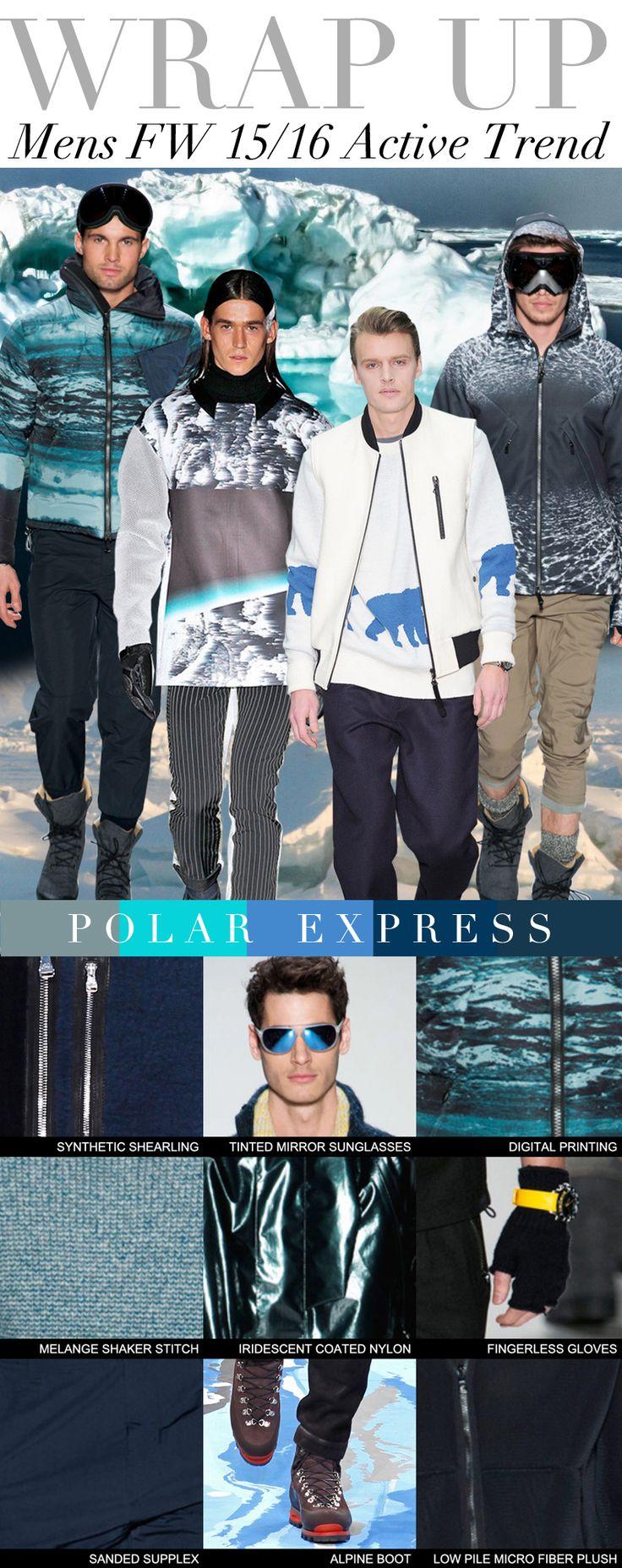 TREND COUNCIL F/W 2015- POLAR EXPRESS