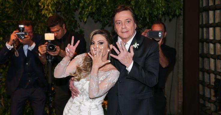 """Fábio Jr. se casa pela sétima vez: """"Treinei, treinei e ganhei o jogo"""""""