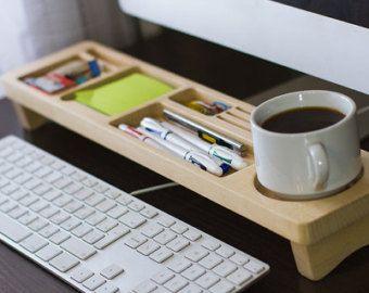 Best 25 Desktop accessories ideas on Pinterest Wooden desk