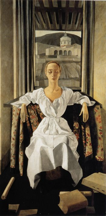 'Portrait of Silvana Cenni', 1922  -  Felice Casorati (1883 –1963)