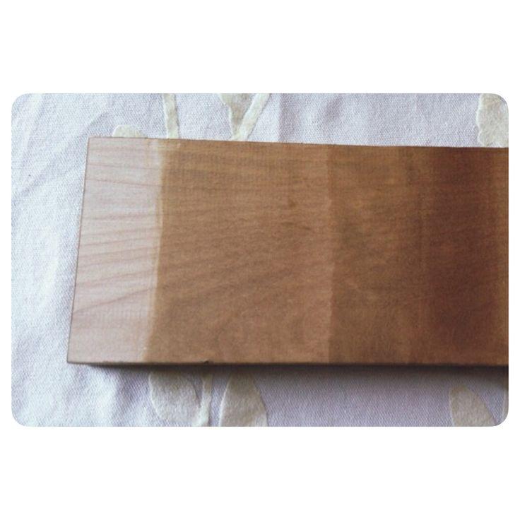 17 meilleures images propos de teinture pour bois sur pinterest teindre bois comment et ps. Black Bedroom Furniture Sets. Home Design Ideas