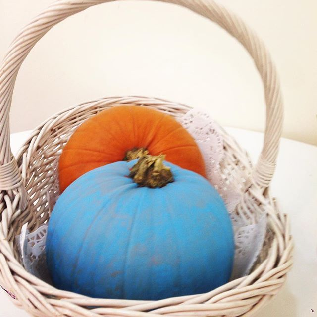 Getting into Halloween mood! (Blue pumpkin inspired by #thetealpumpkinproject ) #lisbondreamsguesthouse