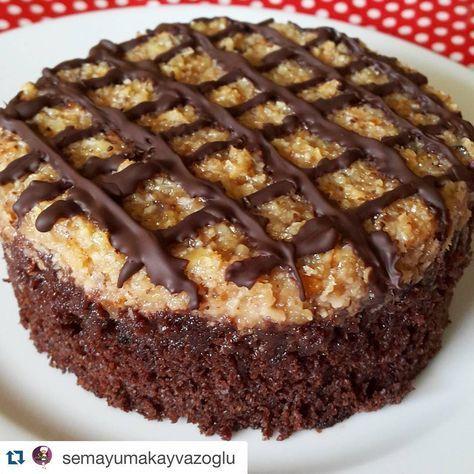 """302 Beğenme, 34 Yorum - Instagram'da Mutlutarifleratolyesi (@mistatlilar): """"Teşekkürler @semayumakayvazoglu  Hindistancevizli Pasta Keki: 4adet yumurta 1.5su bardağı…"""""""