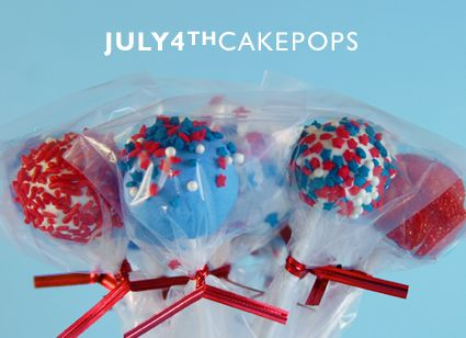 4th of July Cake Pops. Choose your cake pops maker! http://www.jennyreviews.com/?s=+cake+pops