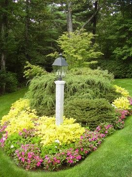 Planting Beds - traditional - landscape - boston - by NatureWorks Landscape Services, Inc.