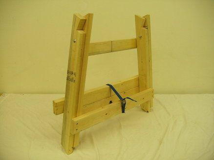 "Ultimate Folding Sawhorse II ""Shopdog"" | DIY - workshop | Pinterest | Folding sawhorse, Sawhorse ..."