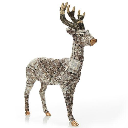 Plaid Deer | The Christmas Cart