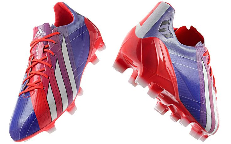 light up the pitch with lionel messi's adidas F50 soccer boots