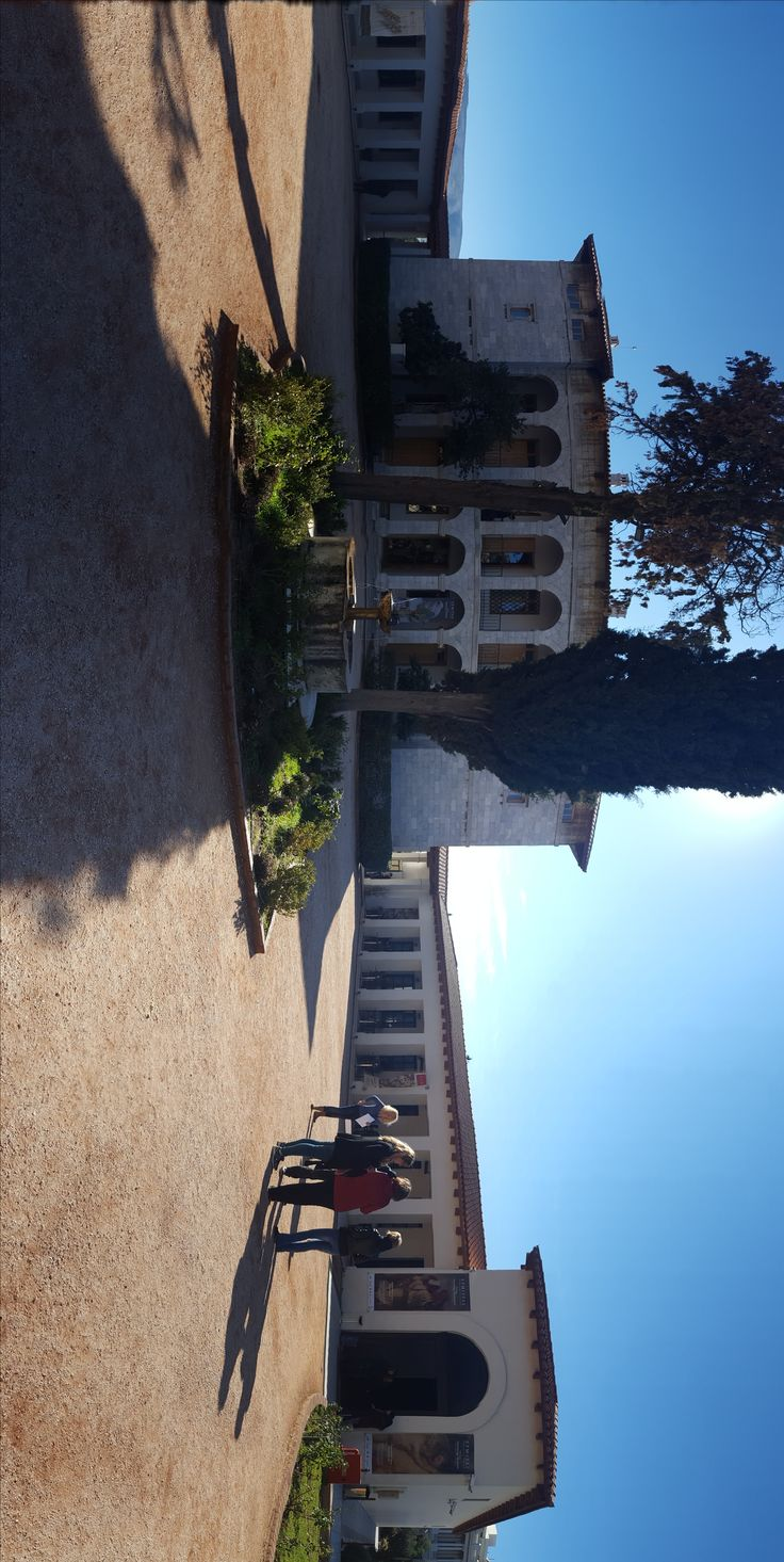 Visit Greece | Villa Ilissia, Athens, Greece (houses the Byzantine and Christian Museum)