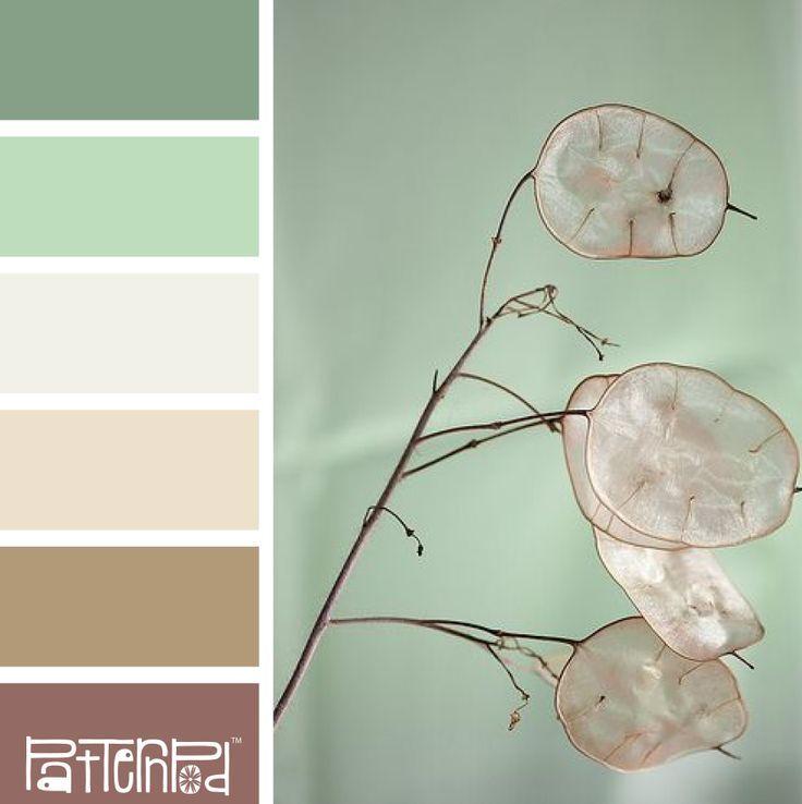 Paletas de colores inspirados en la naturaleza - PatternPod.com